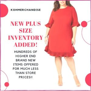 Other - New Womens Plus Size Inventory!